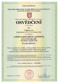 The Czech Defence Standard (AQAP)